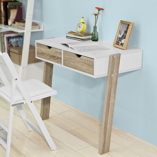 Mesa abatible pared estudio escritorio mesa plegable - Mesa estudio abatible ...